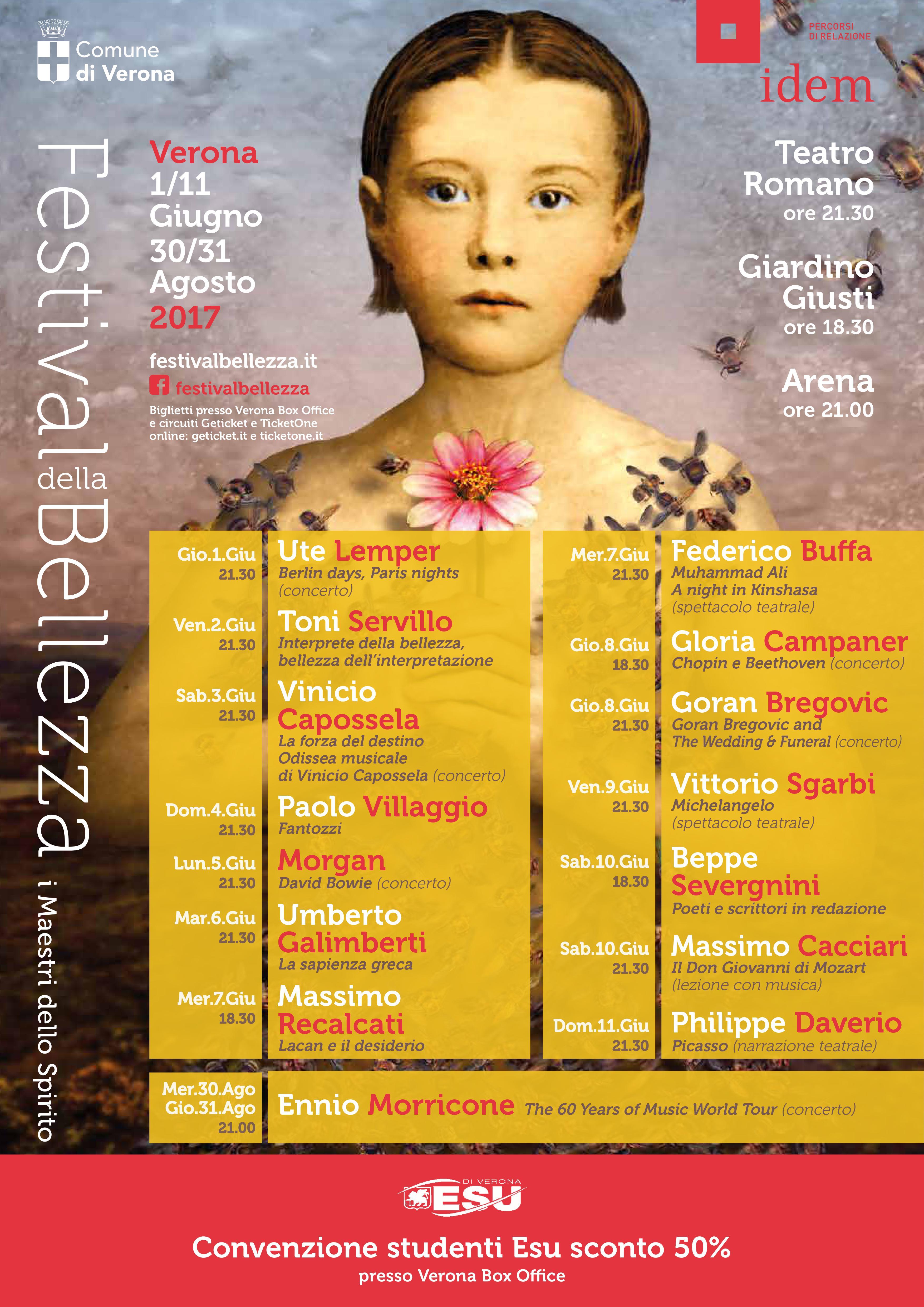 locandina festival della bellezza